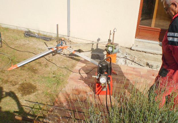 Réparation de maison fissurée